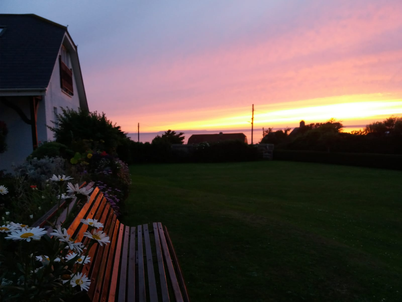 breakers garden sunset